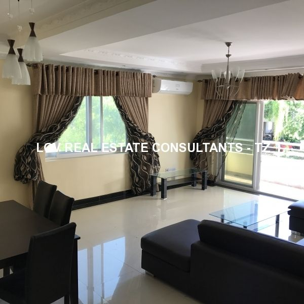 Brand New fully-furnished 3 and 2 bedrooms apartments for rent at Msasani Beach