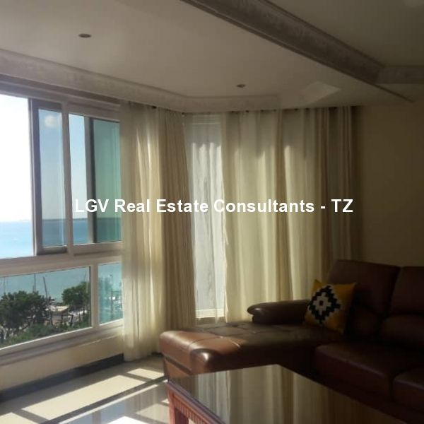 One Bedroom Furnished apartment for rent at Masaki - With Sea View