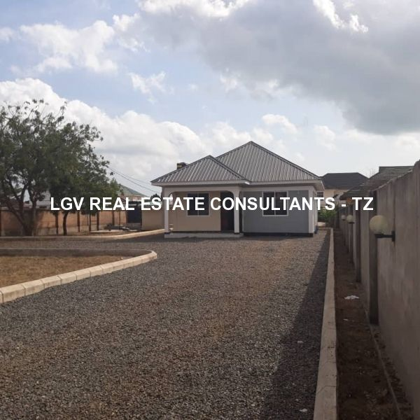 2 bedrooms standalone house for rent at Mbweni - With large compound