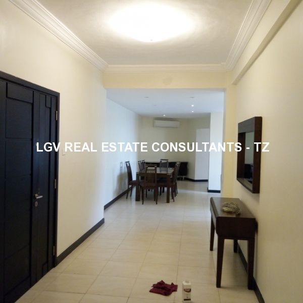 3 Bedrooms Flat Apartment for Rent in Upanga - Furnished
