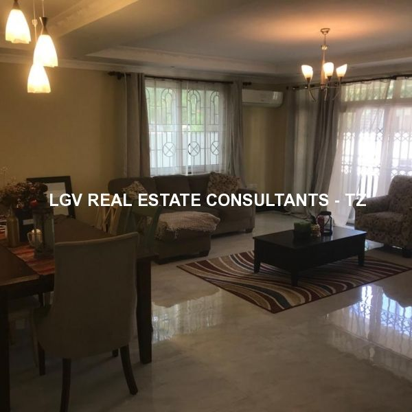 3 Bedroom Spacious Modern Apartment for Rent at Mikocheni