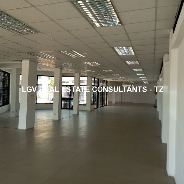450sqm office space for rent on Ground Floor located at Mbezi Beach
