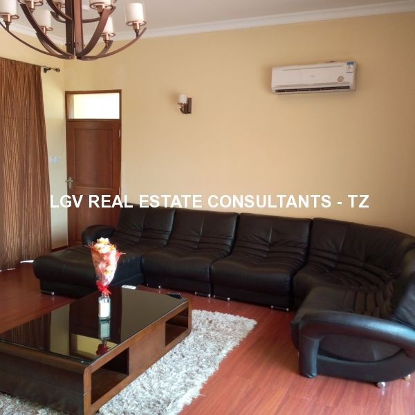 Furnished 2 bedrooms apartment for rent at Mbezi Beach, Dar es Salaam