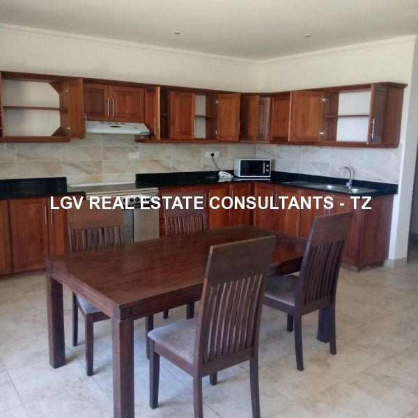 Sea View two bedrooms furnished apartments for rent at Masaki, Dar-es-salaam