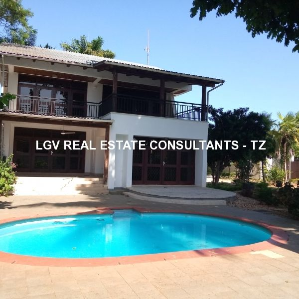 A beautiful 5 bedroom standalone house for rent at Masaki, Dar es Salaam - With Garden and Swimming pool