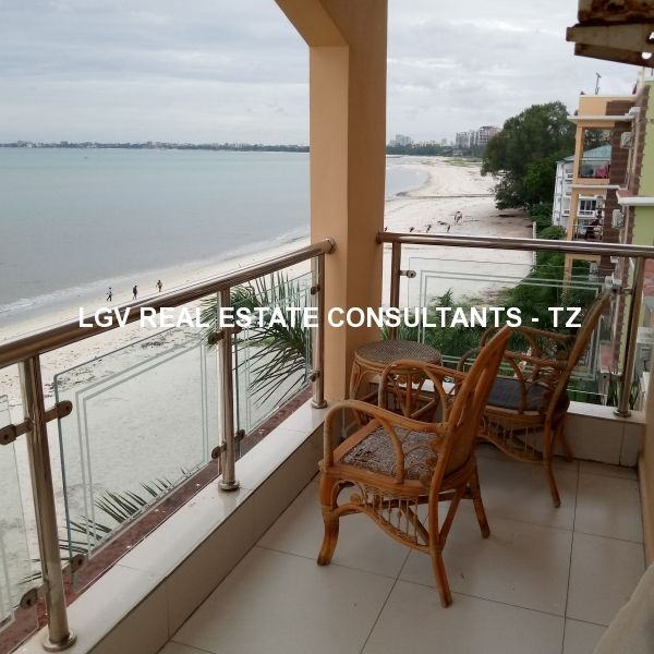 Furnished 2 and 3 Bedrooms Apartments with access to the beach For Rent at Kawe, Dar es Salaam